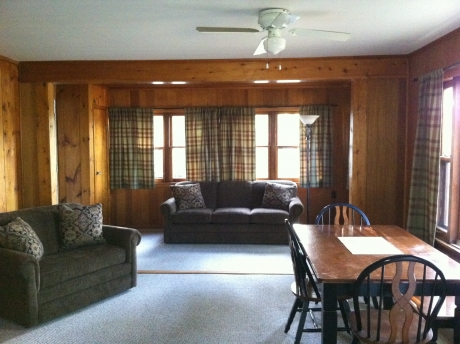 Cabin #1 - Main Living Area