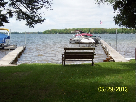 PRIVATE LAKE ACCESS WITH 160 FT. DOCK (20FT. ACCESS)