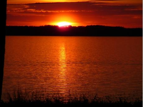 East Grand Traverse Bay Sunset
