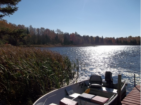 Fall Season Cabin #1 Dock