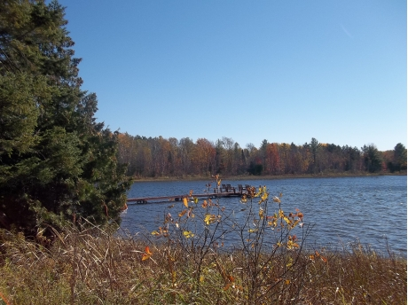 Fall season from DNR access site