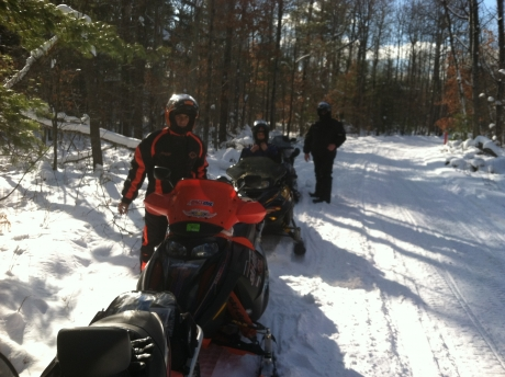Silver Creek Trail / Droped Sleds In Posen