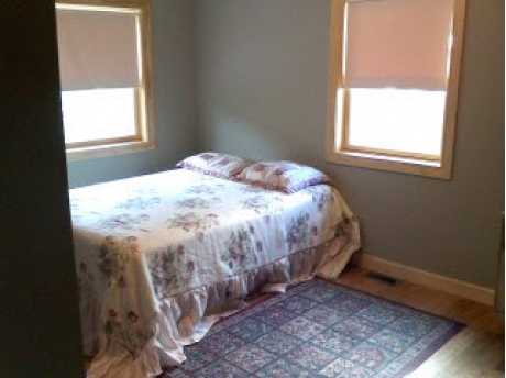 North bedroom, Badger