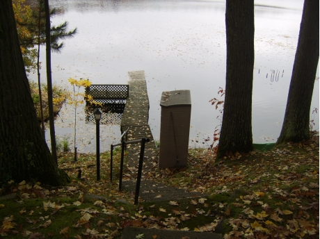 View of High Tower Lake from front yard.
