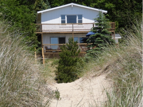 The Cottage viewed from the Beach