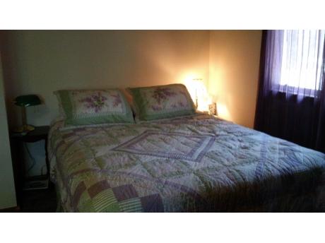 Purple Haze Bedroom sleeps 4 / 1 queen, 1 full