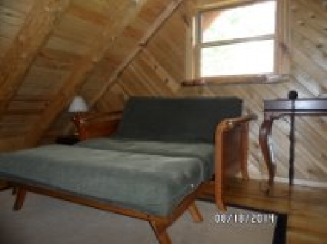 Sitting area in upstairs loft