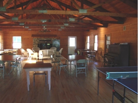 Inside of Clubhouse