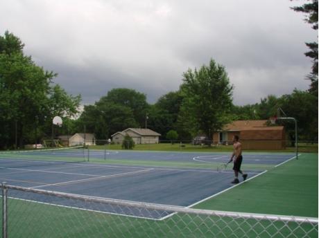Tennis, Pickle Ball, Basketball