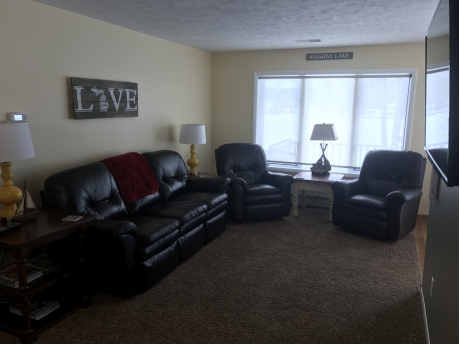 Upper level living room