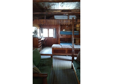 Full bunk bed and loft
