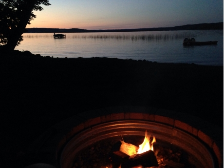 Night by the fire