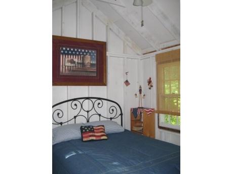 The Getaway cabin interior