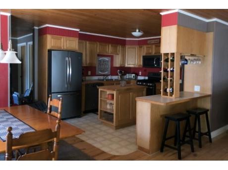 Kitchen with newer appliances