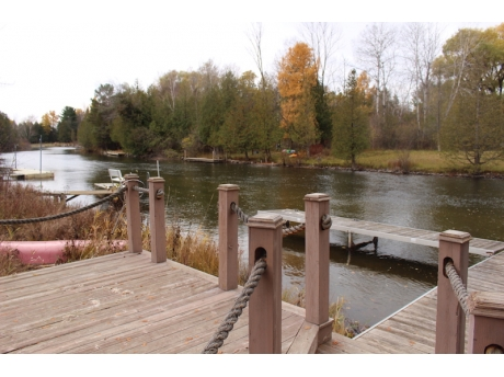 Dock and River