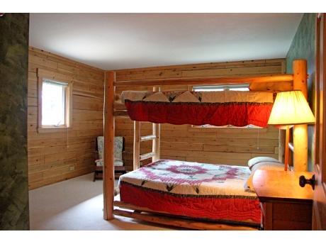 Bunk room (Full over Full sized beds) on Main floor