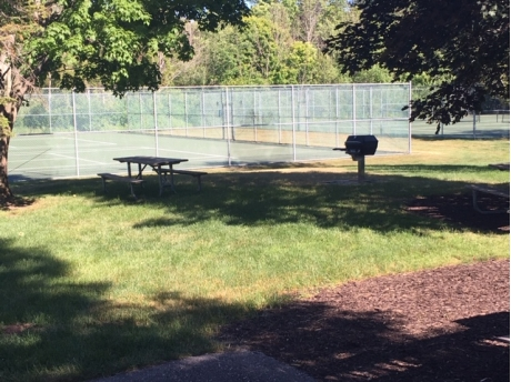 Tennis court and pickleball
