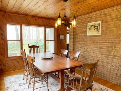 Formal Dining Room with Lake Views