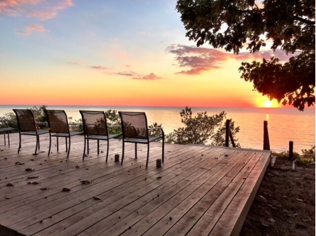 Enjoy Beautiful Sunsets from Chapman's Chapter