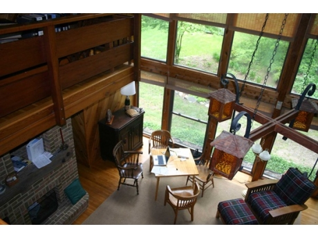 Living Room from the upstairs