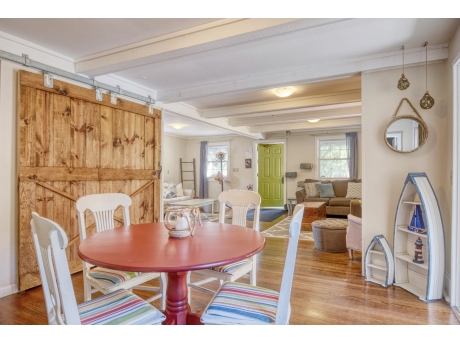 Casual Dining Area Leads to Sun Porch
