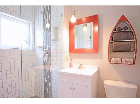 Master Bedroom Ensuite with Walk in Shower