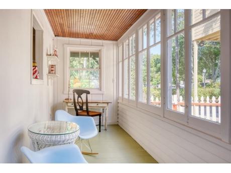 Bright Sun Porch, Perfect for Morning Coffee