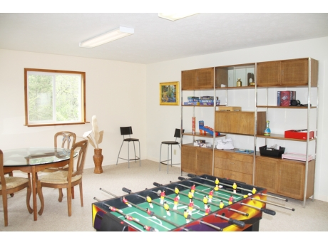 Recreation Room has Various Games