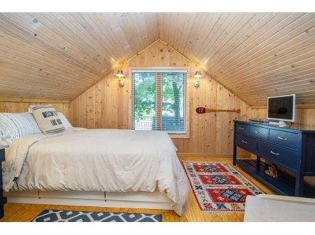 Lofted Queen Bedroom