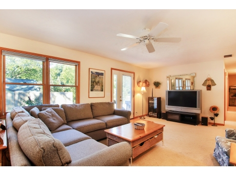 Open Living Room with Nice Sectional