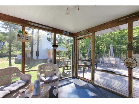 Amazing Screen Porch Perfect Place to have your Morning Coffee