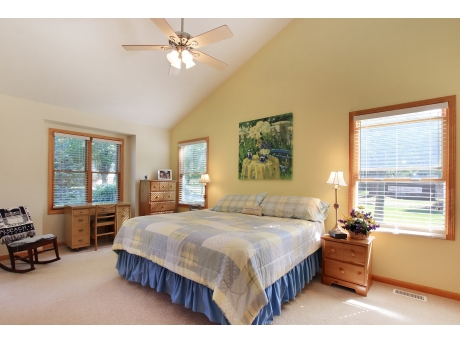 1 of the 5 King Bedrooms