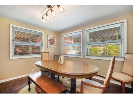 Formal dining room for everyone to eat together
