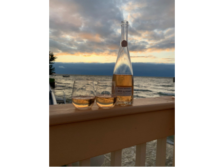 Happy hour on the deck