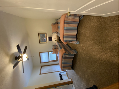 UPSTAIRS TWIN BEDS WITH FULL BATH