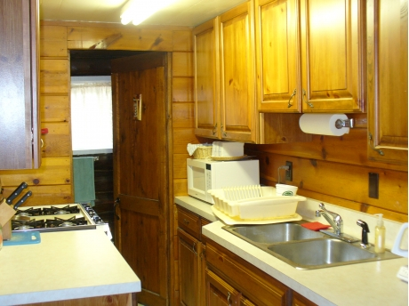 Kitchen is fully furnished and with everything you would ever need to cook or eat with.