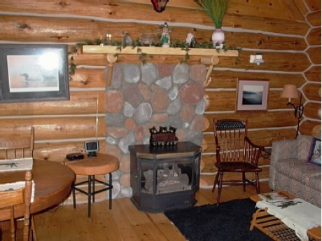 Fire Place in Cabin