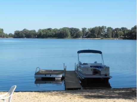 Dock and  Lake view