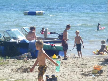 Portage Lake Beach