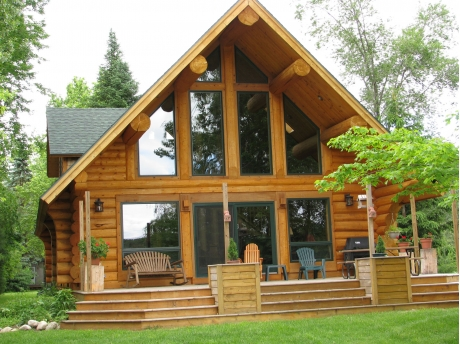 michigan in cabins rentals rustic cabin northern