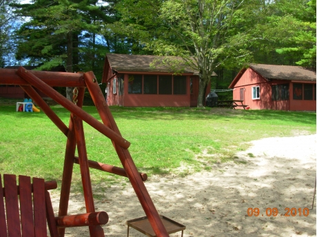 Cabin #1 (right) and Cabin #2 (left)