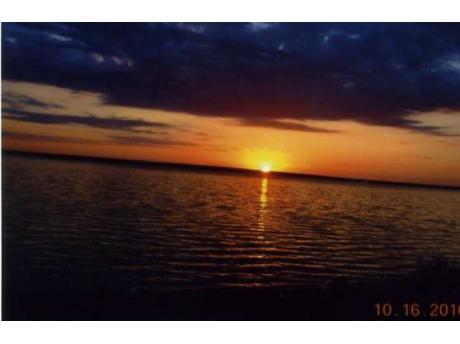 Black Lake Sunset