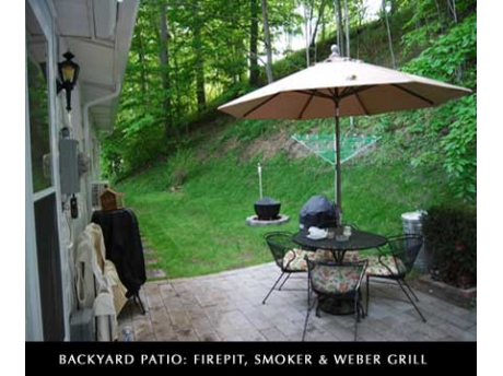 Backyard Patio/Grilling Area