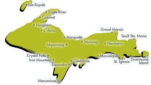 Michigan Vacation Properties in the Upper Peninsula of Michigan